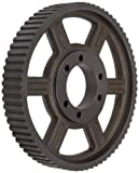 Martin 72H300SF J-3 Type Timing Pulley, 1/2'' Pitch, 72 Grooves, Heavy, 3'' Wide Belts, SF QD Bushing, Flangeless