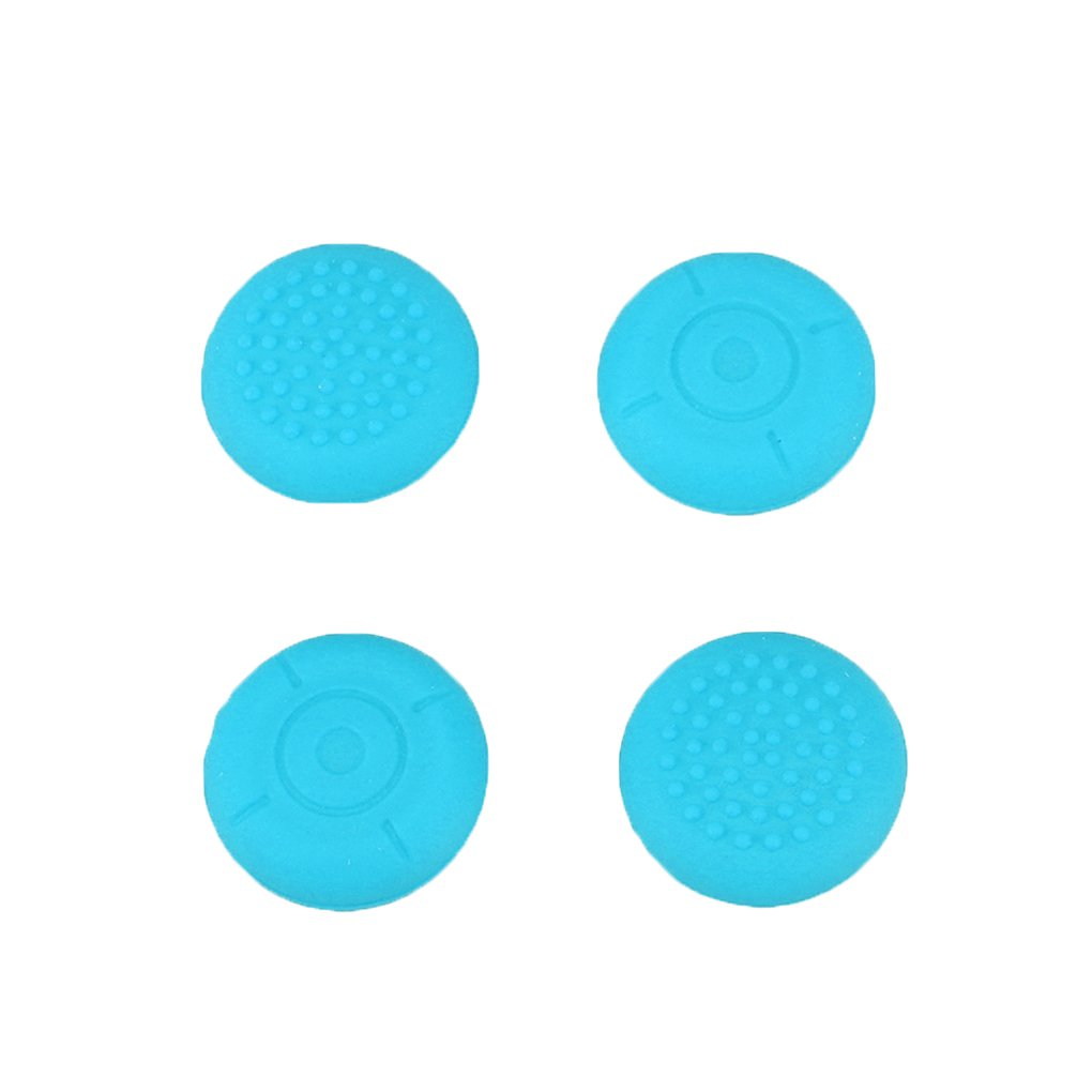 Riverlily 4 Pack Replacement Analog Silicone Thumb Sticks Joysticks Grips Caps Non-Slip for Switch