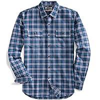 Goodthreads Men's Slim-Fit Plaid Twill Shirt