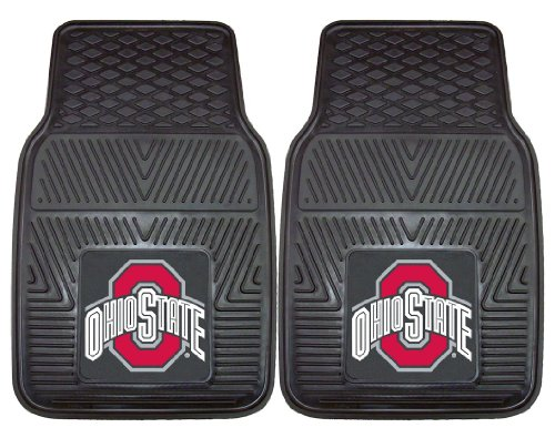 FANMATS Automotive Mats - The Ohio State University Buckeyes, 2-Pc. Set ()