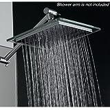 """AKDY AZ-6021 Bathroom Chrome Shower Head, 8"""""""