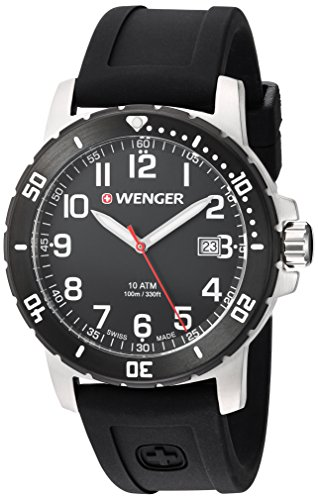 Wenger-Mens-Off-Road-Swiss-Quartz-Stainless-Steel-and-Silicone-Casual-Watch-ColorBlack-Model-011341103