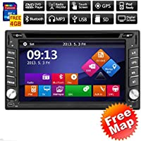 Latest Win 8 In dash Audio GPS Navigation Car DVD CD Video Player 2 Din Universal Car PC Stereo Radio W/ iPod Bluetooth mp3 RDS