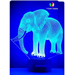 A SIMPLE BUT INTERESTING ROOM DECOR AND GIFT FOR GIRLS & BOYS!LIGHT UP YOUR ROOM! When you use the cool lamp as ROOM DECORATIONS, it will take the guests' attention and start an interesting topic about the 3D effect! AWESOME DECOR FOR BIR...