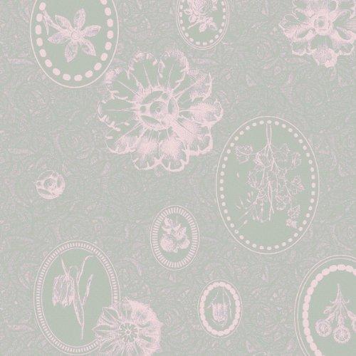 Mille Une Roses - Garnier-Thiebaut Set Of 4 Mille Eclats Napkins, Rose, 22