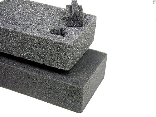 2 Middle Pelican 1510 pluck pieces. Cubed Foam. Sold by CVPKG 1512