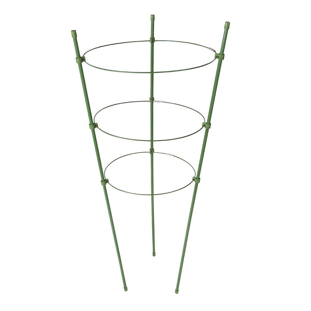220 mm Silverline 921382 Staudenhalter mit drei Ringen /Ø 180 200 u