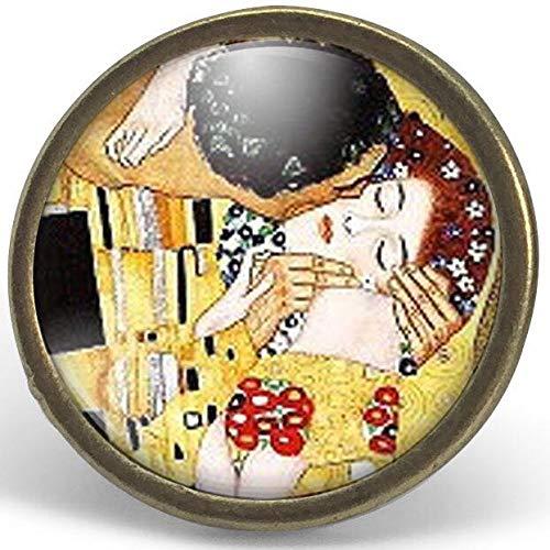 Anillo cabochon - Klimt