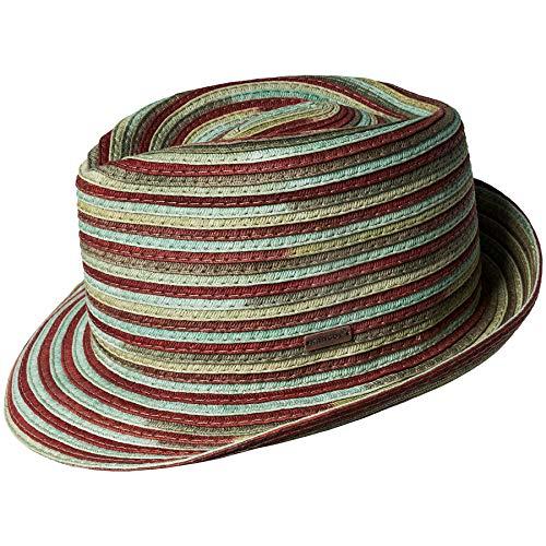 Hats Kangol Fedora (Kangol Men's Spacedyed Braid Fedora Trilby Hat, River, XL)