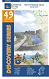 Front cover for the book Discovery Series 49: Kildare, Meath, Offaly, Westmeath by Ordnance Survey Ireland