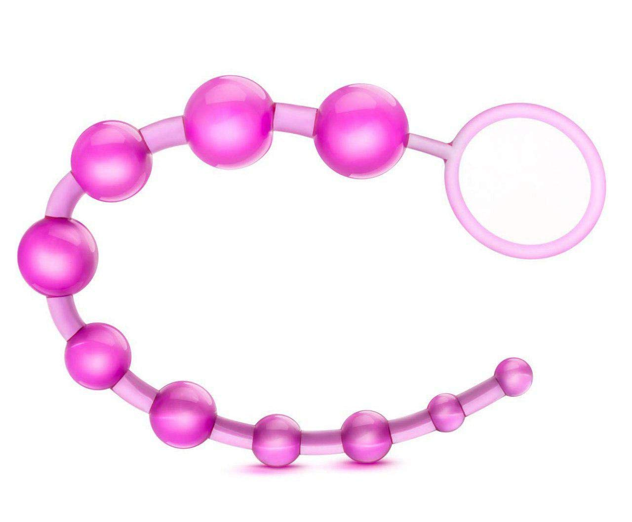 Silicone Beads Body Safe Tail Bead Trainer Kit - Pink