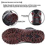 ziitop Chaussures de Randonnée Homme Bottes Tactiques pour Hommes Chaussures de randonnée et de Trekking à Taille Haute… 9