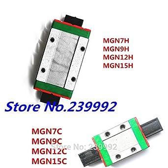 Ochoos MGN9H MGN9C MGN12H MGN12C MGN15H MGN15C MGN7 Bloque de ...