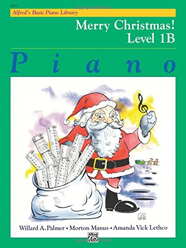 Basic Piano Duet Book - Alfred's Basic Piano Library Merry Christmas!, Bk 1B
