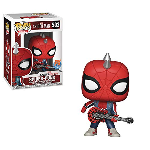 Pop Marvel Spider-Punk Vinyl Fig