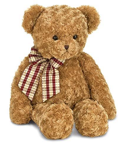 (Bearington Wuggles Brown Plush Stuffed Animal Teddy Bear, 18 inches )