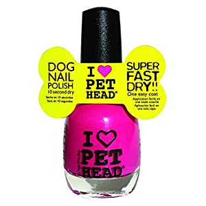 Pet Head Mommy and Me Pet Nail Polish, Fuchsia