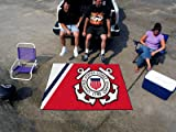 Fan Mats US Coast Guard Tailgater Rug, 60'' x 72''