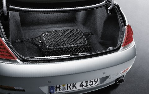 Floor Style Trunk Cargo Net for BMW 6-Series 6 Series 645Ci 650i M6