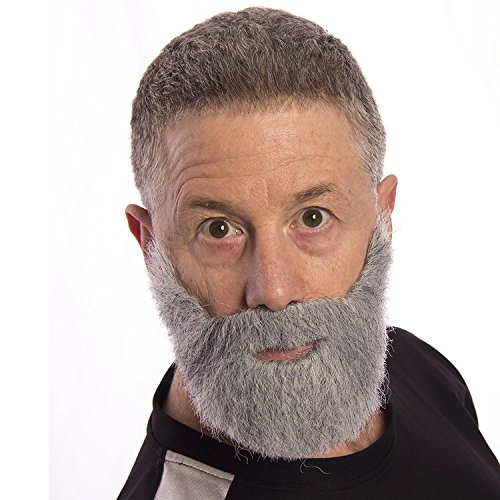 MyPartyShirt Most Interesting Man in The World Beard Dos Equis Commercial Adult Costume Grey -