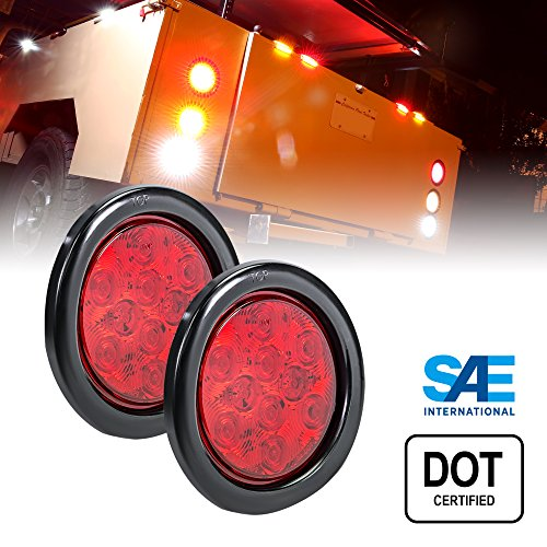 4In Round Led Tail Lights - 3