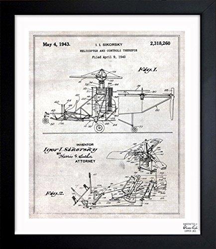 vintage airplane blueprint - 6