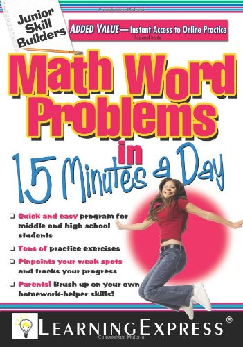 Read Online Math Word Problems in 15 Minutes a Day ebook