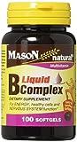 Mason Vitamins B Complex Multivitamin Softgel, 100-Count Bottles