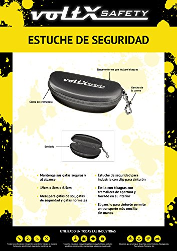 For Safety Glasses//Bifocal Safety Glasses//Safety Sunglasses 5 x voltX Safety Cord//Lanyard with Safety Stop