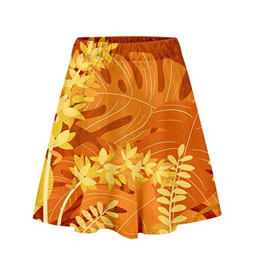 - Aanny Dress Women's Stretchy Cotton High Waist Ruffle Wrap Tie Knot Fishtail Mini Skirt