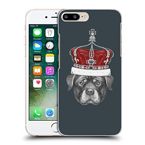 GoGoMobile Coque de Protection TPU Silicone Case pour // Q05450606 Rottweiler couronne Arsenic // Apple iPhone 7 PLUS