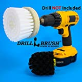 Revolver Drill Brush - Power Scrubbing Drill Attachment - Multi-purpose Cleaning Tool with Original Drillbrush Power Scrubber (Health and Beauty)
