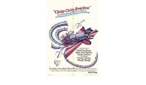 Amazon Chitty Bang 27 X 40 Movie Poster