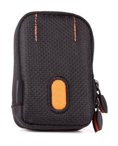 DuraGadget elegante Tasche aus Polyester-Material, für ANKER SoundBuds AK-A3233011 | AUKEY EP-B4-G Bluetooth, EP-B4-S | AUVI QY19 Bluetooth Kopfhörer