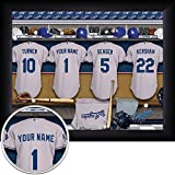 Los Angeles Dodgers Personalized Framed Print