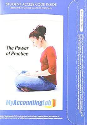 Myaccountinglab With Pearson Etext Access Card