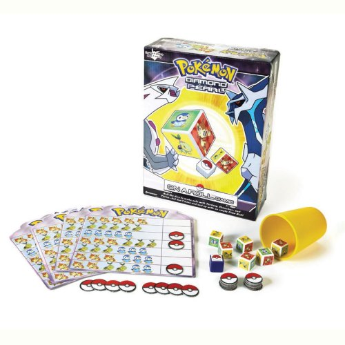 Pokemon On A Roll Game by Pressman Toy (Pokemon On A Roll Game compare prices)