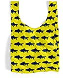 BAGGU Standard Reusable Shopping Bag - Neon Fish