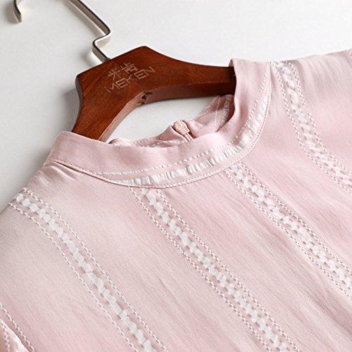 Robe XL Paires Manches MiGMV Dames Rayures Sept Les Jupe Collier Robes de vtements Stripe Longue pour Uqxqt4Anw1