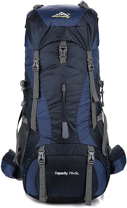 Mochila Montañismo 70L + 5L del morral del alpinismo al aire ...