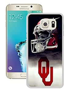 Newest Samsung Galaxy S6 Edge Plus Case ,Unique And Fashion Designed Case With Oklahoma Sooners 01 White Samsung Galaxy S6 Edge+ Skin Cover High Quality Phone Case