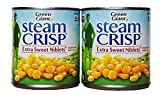 Steam Crisp Extra Sweet Niblets. (Whole Kernel Sweet Corn - Pack of 2)