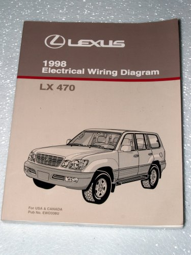 1998 lexus lx470 electrical wiring diagrams paperback – 1997
