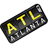 Case for iPhone 6 Plus ATL Airport Code for Atlanta - Neonblond