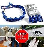 ZaZaTool XXL Size Perfect Dog Command Collar Training Pets Prong Choke Chain (No DVD)