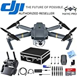 DJI Mavic Pro Expedition Kit (CP.PT.000500) with 2nd Battery, Custom Fit Hard Case, 16GB Flash Drive, 32GB Memory Card, and Cleaning Kit