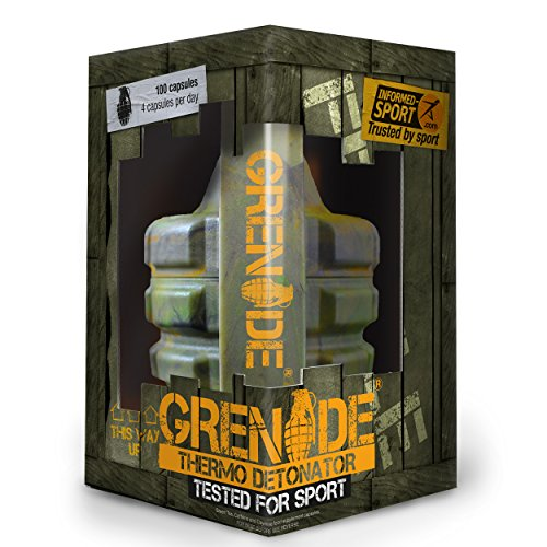 Grenade Fat Burner 100 caps (Informed Sports version) by Grenade