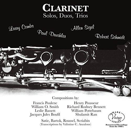 - Clarinet Solos, Duos, Trios