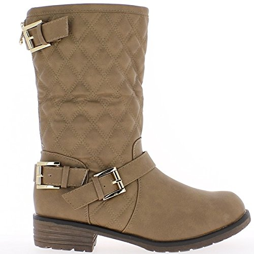 de rellenos Botines mujer 5cm taupe 3 tacón zqFwC0S