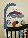 GEENNY Musical Mobile For Sailor CRIB BEDDING SET, Baby & Kids Zone